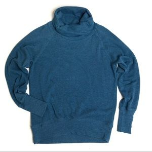 Z by Zella Ruched Cowl Neck Sweatshirt